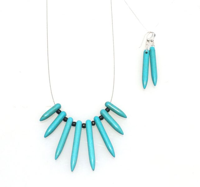 aqua-howlite-necklace-earring-set