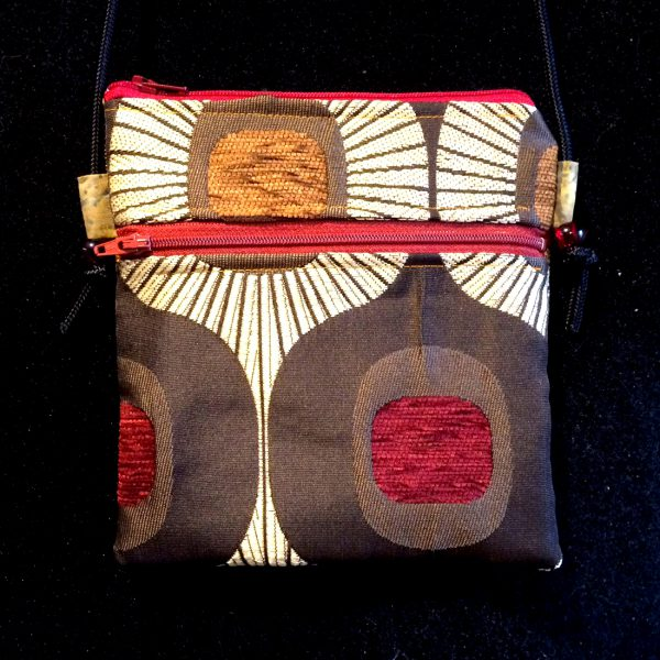 Tibetan Inspired Passport Bag