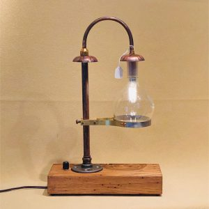 Bright dimmable desk lamp.