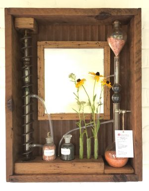 rustic decorative mirror
